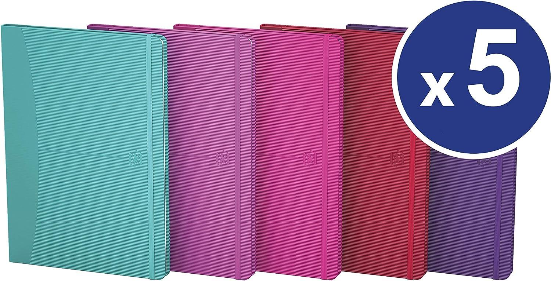Oxford 100735209 Notizbücher Notizbücher Notizbücher Signature im Format DIN A6 kariert 5er Pack je 160 Seiten in in 5 Farben mit SCRIBZEE App zum digitalisieren ihrer Notizen B0769LPGFW | Reichhaltiges Design  d81ae0