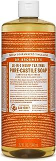 Dr. Bronner's Pure Castile Soap - Fair Trade and Organic - Liquid - 18 in 1 Hemp - Tea Tree - 950ml