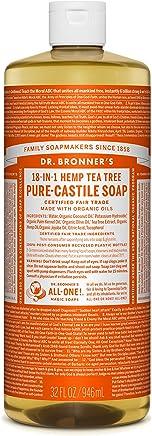 Dr. Bronner's Pure-Castile Liquid Soap – Tea Tree 32oz.