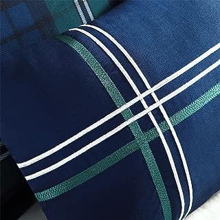 Mizone Brody 3 Piece Printed Microfiber Comforter Set, Twin/Twin X-Large, Blue