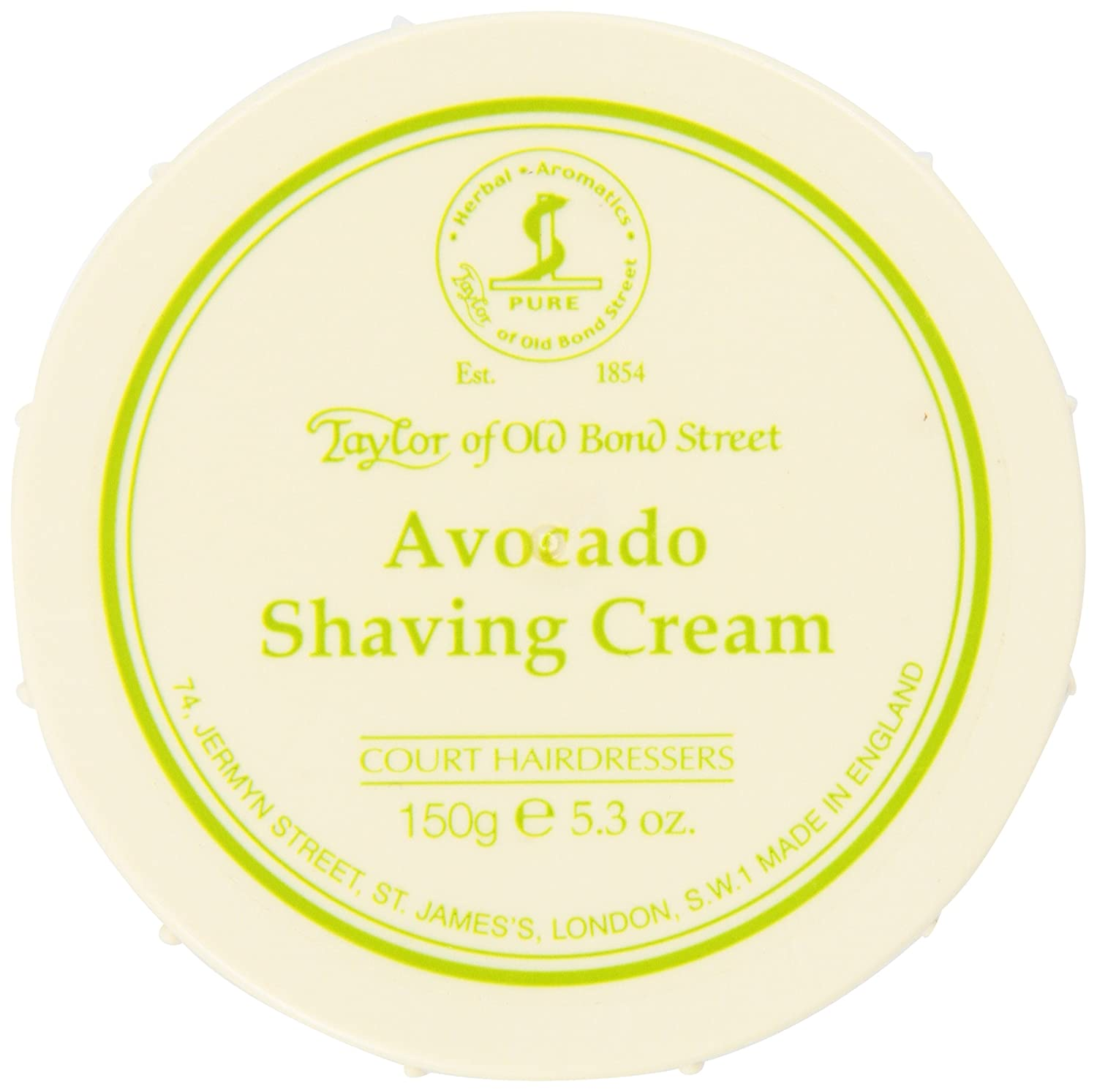Taylor of Old Bond Street Avocado A At the price of surprise 5.3-O In Cream Bowl Selling and selling Shaving