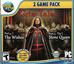 GRIM TALES Part 3: THE WISHES + Part 4: THE STONE QUEEN Hidden Object + Bonus Game