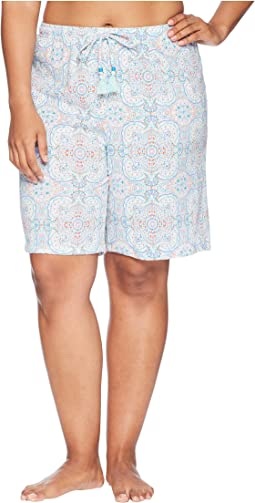 Jockey - Plus Size Printed Bermuda