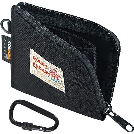 2 Stück Geldbörse Mini Outdoor Geldbörse Keys Pouch Black Khaki