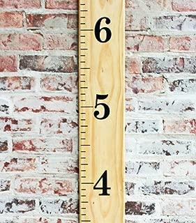 Little Acorns DIY Vinyl Growth Chart Ruler Decal Kit, Jumbo Numbers