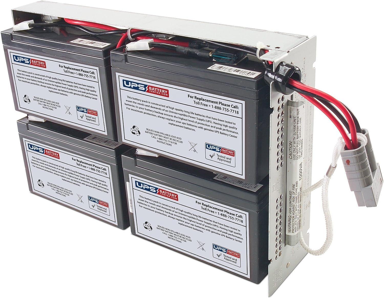 APC Smart UPS 1000 Rack Mount 2U SU1000RM2U Compatible Replacement Battery Pack by UPSBatteryCenter