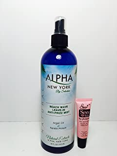 Alpha Salvatores Beach Wave Leave-in Anti-frizz Mist with Argan Oil and Keratin Protein 16 Oz
