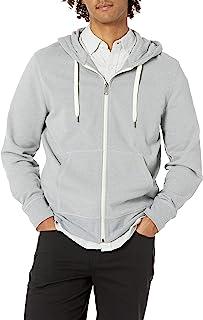 Amazon Essentials Men's Lightweight French Terry Full-Zip Hooded Sweatshirt
