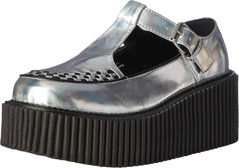 Demonia Womens Cre214 Shg-bvl Fashion Sneaker