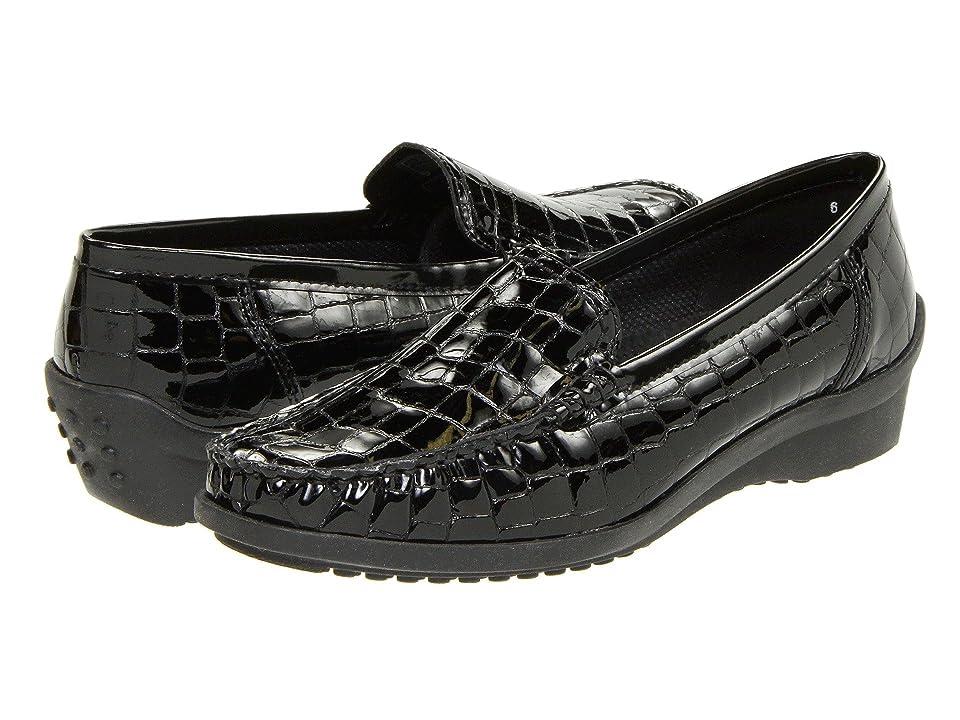 ara Phoebe (Black Croco Patent) Women
