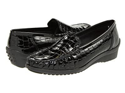 ara Phoebe (Black Croco Patent) Women