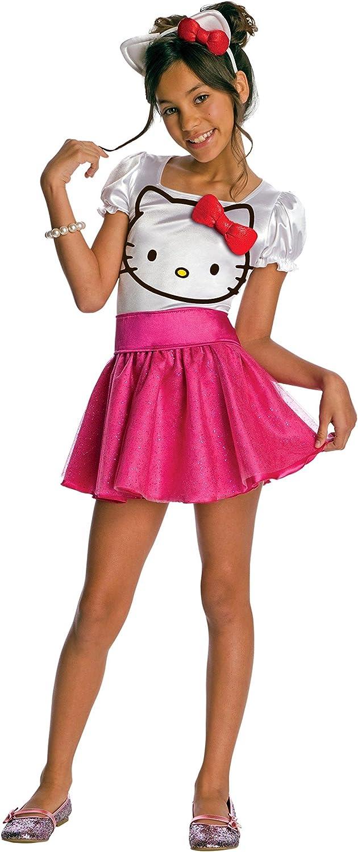 el mas de moda Rubies Costume Costume Costume Co R884752-M Girls Hello Kitty Tutu vestido del ni-o del traje MEDIO  Tienda 2018