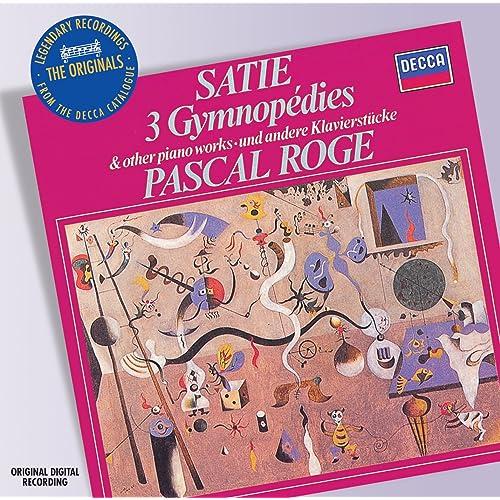 Satie: Piano Music by Pascal Rogé on Amazon Music - Amazon com