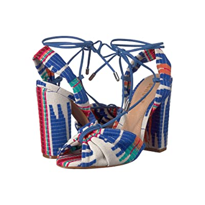 Schutz Ailika (Multi Blue) Women