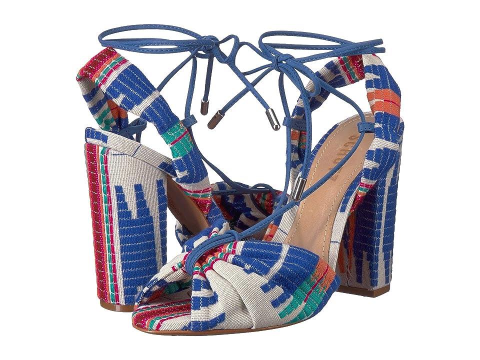 e173ae721a4 Schutz Ailika (Multi Blue) Women s Dress Sandals