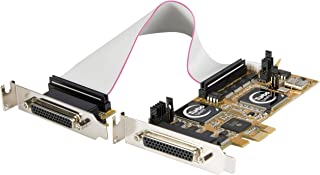 KOQIT 9-pin 2 Serial Ports PCI-e Controller Card PCIE-2S WCH DB9 to 2 Ports RS232 Full Height Free Low Profile Bracket