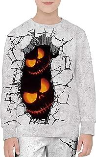 Halloween Costumes for Kids Halloween Hoodies Long Sleeve Sweatshirt