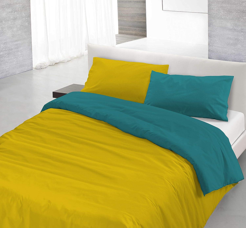 Natural Farbe Farbe Farbe cp-nc-2p Bettbezug, 100% Baumwolle, Ocker grün Flasche, für Ehebett, 250 x 200 cm, 3 Einheiten B01N5CFEG6 760cd6