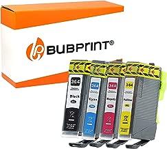 4 Bubprint Druckerpatronen kompatibel für HP 364-XL für Photosmart 5520 6520 5510 5524 7520 7510 DeskJet 3520 OfficeJet 4620 4622 6500a Multipack