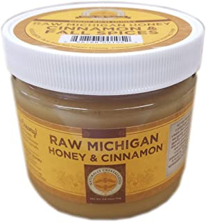 Naturally Crystallized Raw Honey Spread with Cinnamon and Spices (16 oz.)