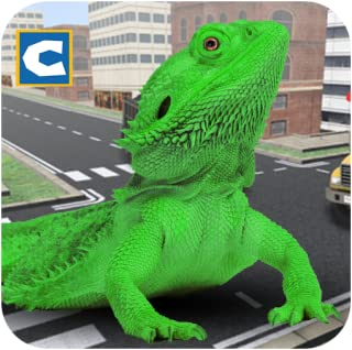 Monster Lizard Simulator: City Battle