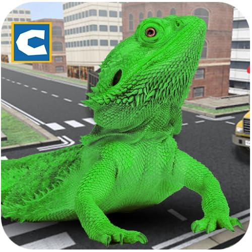 Monster Lizard Simulator: City Battle
