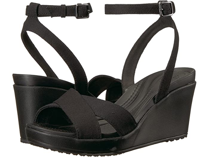 Crocs Leigh II Ankle Strap Wedge | 6pm
