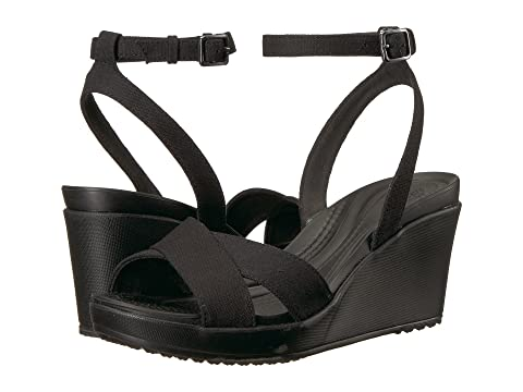 0d5fb21638e Crocs Leigh II Ankle Strap Wedge at 6pm