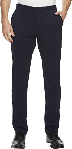 Slim Fit Seersucker Textured Suit Pant