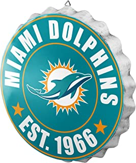 Miami Dolphins 2016 Bottle Cap Wall Sign