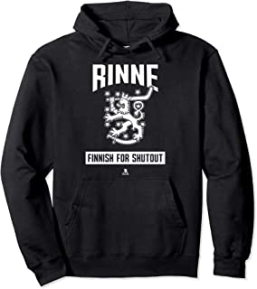 Pekka Rinne Finnish For Shutout Hoodie - Apparel