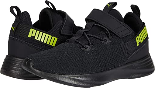 Puma Black/Asphalt/Nrgy Yellow