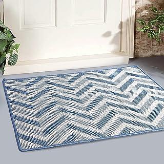 """MAPLEZ Indoor Doormat Large Size 24""""x36"""" Outdoor Doormat Absorbent Resist Dirt Floor Mat Non Slip Rubber Back Low-Profile ..."""
