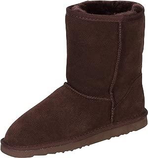 Kemi Women's Bella Classic Short Winter Boots - Suede Ladies Winter Snow Boots