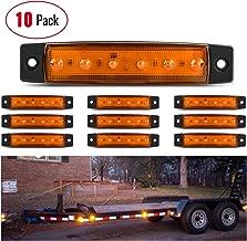 Marker lights Madcatz Lighting Trucks Pack of 20 Madcatz 3.8 Red Side Led Marker Trailer lights