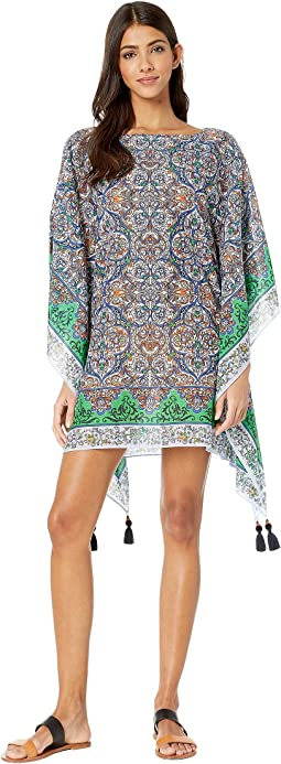 Printed Beach Caftan Cover-Up