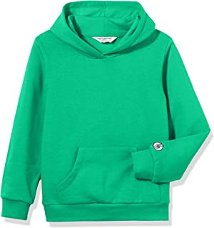 Kid Nation Kids' Soft Brushed Fleece Casual Basic Pullover Hooded Sweatshirt Hoodie for Boys or Girls,Age(4-12Years)