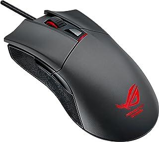 ASUS 使い手を選ばない左右対称デザインのゲーマー向け軽量マウス ROG Gladius P501-1A