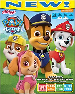 Kellogg's Fruit Flavored Snacks, Paw Patrol, 20 Ct, 17.6 Ounce