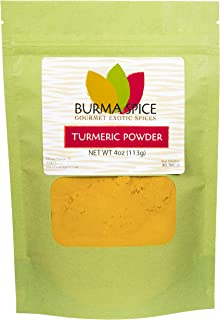 Turmeric Powder | Natural Food Coloring | Perfect for Asian Cuisine | Curries and Masala 4 oz.