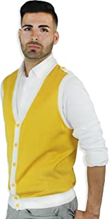 Two-Tone Sweater Vest
