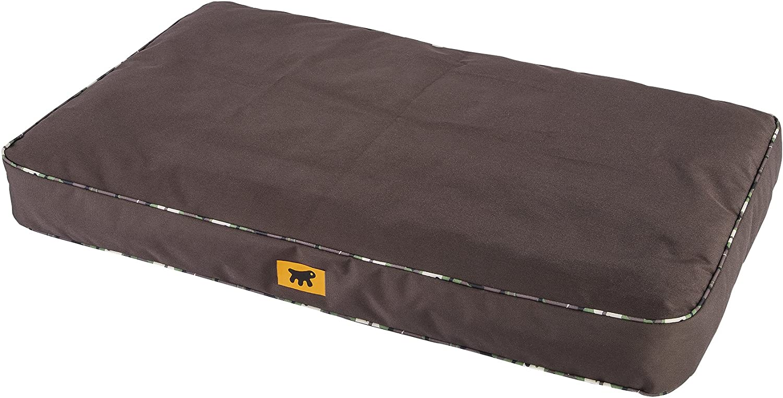 Ferplast Polo 65 Dog Bed, 65 x 40 x 8 cm, Brown