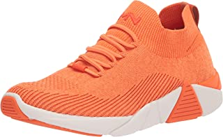 Mark Nason womens A-line - Pointe Sneaker, Orange, 9 US