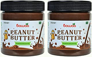 Bawaa Chocolate Peanut Butter (Pack of 2) 1 kg