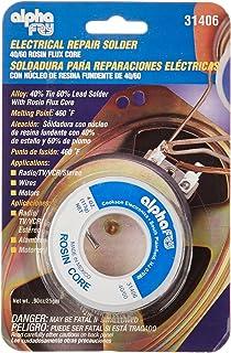 Alpha Fry AM31406 Cookson Elect 40/60 Electrical Rosin Core Solder (Renewed) - - Amazon.com