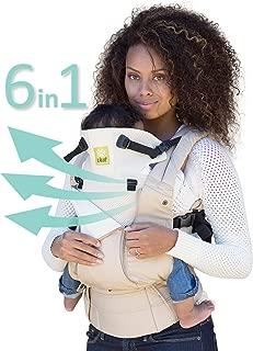 LÍLLÉbaby Complete All Seasons SIX-Position 360° Ergonomic Baby & Child Carrier, Summer Sand - Lumbar Support