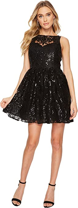 BB Dakota - Tate Sequin Lace Dress