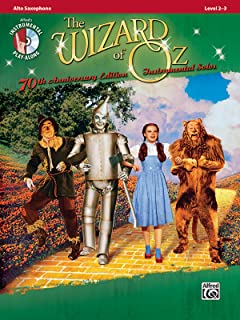 The Wizard of Oz Instrumental Solos: Alto Sax, Book & CD (Pop Instrumental Solos Series)
