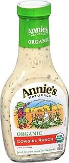 Annie's Organic Cowgirl Ranch Dressing 8 fl oz Bottle