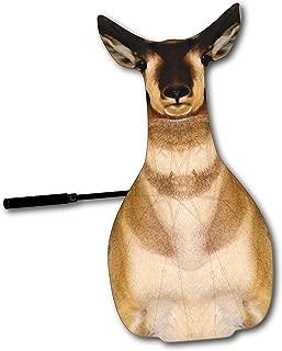 Killer Gear Revolutionary Hunting Decoy (Turkey Fan, Jake Fan, Antelope Fan, Elk Fan) Waterproof, Camouflage, 3D Animal Fan/Stand/Umbrella for Archery, Bow, Shotgun, Slingshot Hunting